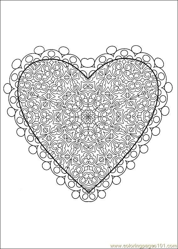 72 best Valentines coloring pages images on Pinterest  Drawings