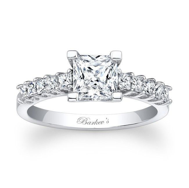 Princess Cut Engagem Princess Cut Engagement Ring   7860L