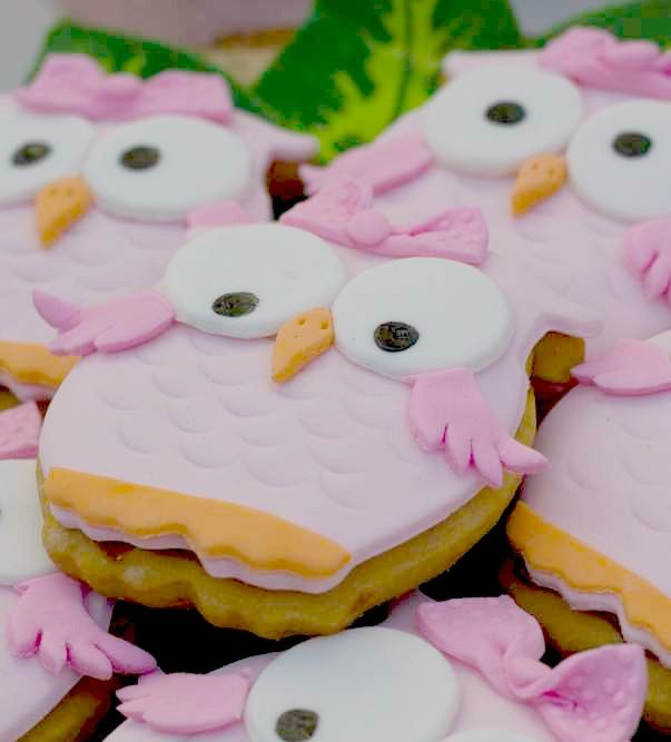 Owl Birthday Party cookies! See more party planning ideas at CatchMyParty.com!