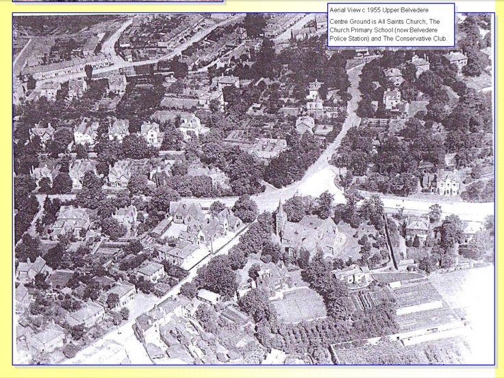 Upper Belvedere Kent Nuxley Village 1955 Old London Borough Of Bexley Pinterest