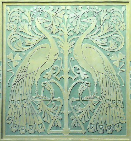 indigodreams:    Barcelona - St. Pau     Hotel España    Architect: Lluís Domènech i Montaner  Artists: Ramon Casas / Eusebi Arnau  via Arnim Schulz