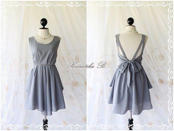 A Party - V Shape Dress - maybe a new bridesmaid idea