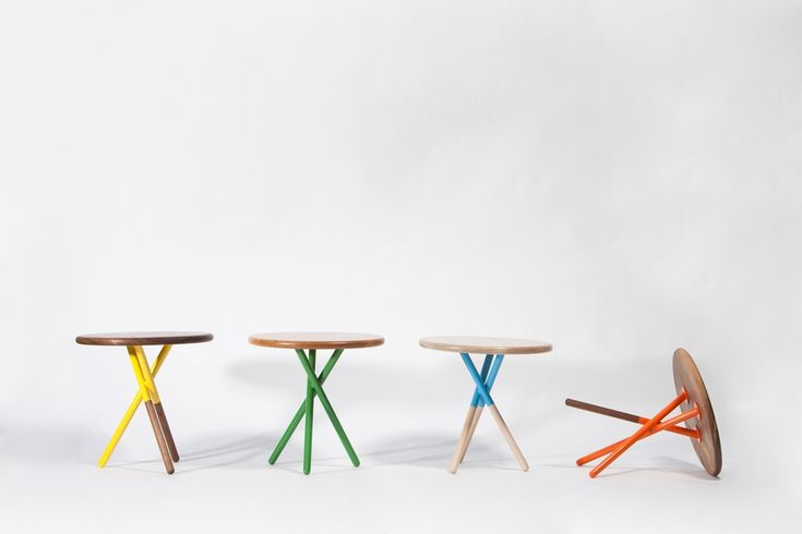 Soft Side Tables - Popp Littrell Architecture & Interiors