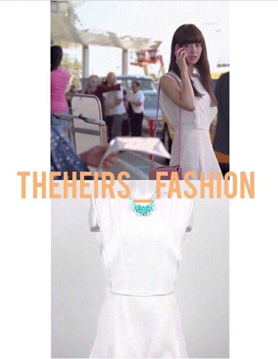 Kim Ji Won as Yoo Rachel The Heirs Get the exact look : SJSJ sleevless one piece dress 881,15 $