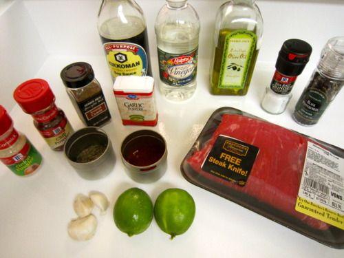 Carne Asada//delicious in tacos!