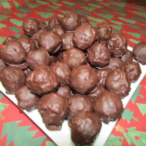 chocolate rice krispie balls chocolate rice crispy treats chocolate ...