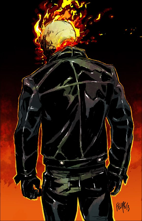 Ghost Rider : Johnny Blaze by Felipe Smith