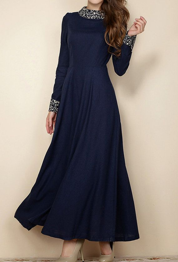 S3XL plus size dress maxi dress plus size clothing by customsize, $98.00