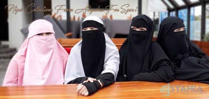 Niqab Syari Alsyahra Exclusive Premium