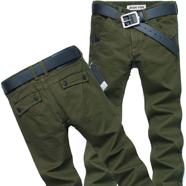 Крутые мужские брюки хаки в стиле милитари #ДЖИНСЫ #МУЖСКИЕ #ХАКИ #МИЛИТАРИ