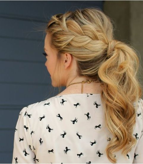 hair styles for really hair the 25 best formal ponytail ideas on wedding 2890