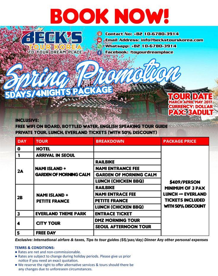 Spring Promotion