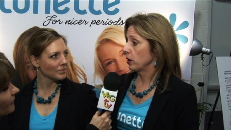 Lunette Menstral Cups interviewed by VegTV