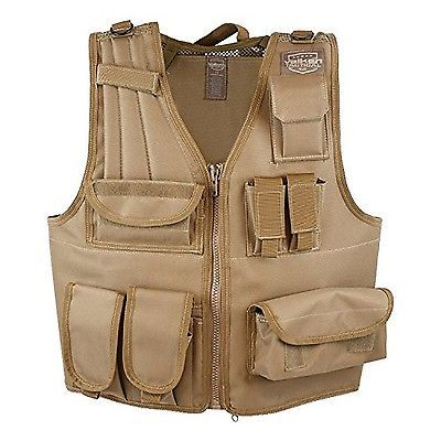 Clothing and Protective Gear 159044: Valken Tactical Airsoft Tactical Vest Tan Adjustable Size Free Shipping BUY IT NOW ONLY: $51.39