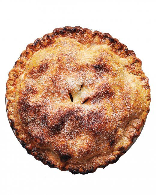 Recipe: Add browned butter and fresh vanilla bean to take apple pie to the next level.