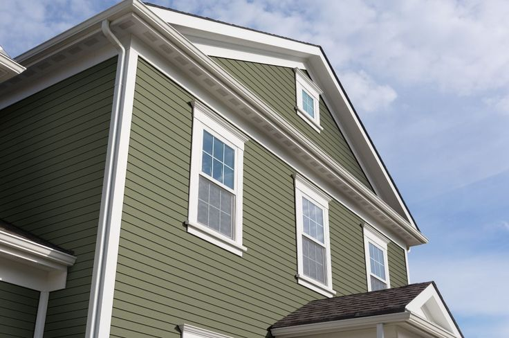 Celect Siding In Moss Green With Envy Pinterest