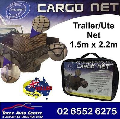 Cargo-Net-1-5m-x-2-2m-Nylon-Cord-35mm-Mesh-15-Hooks-Ute-Trailer-FCN1522
