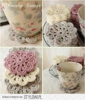 The classic crochet coaster