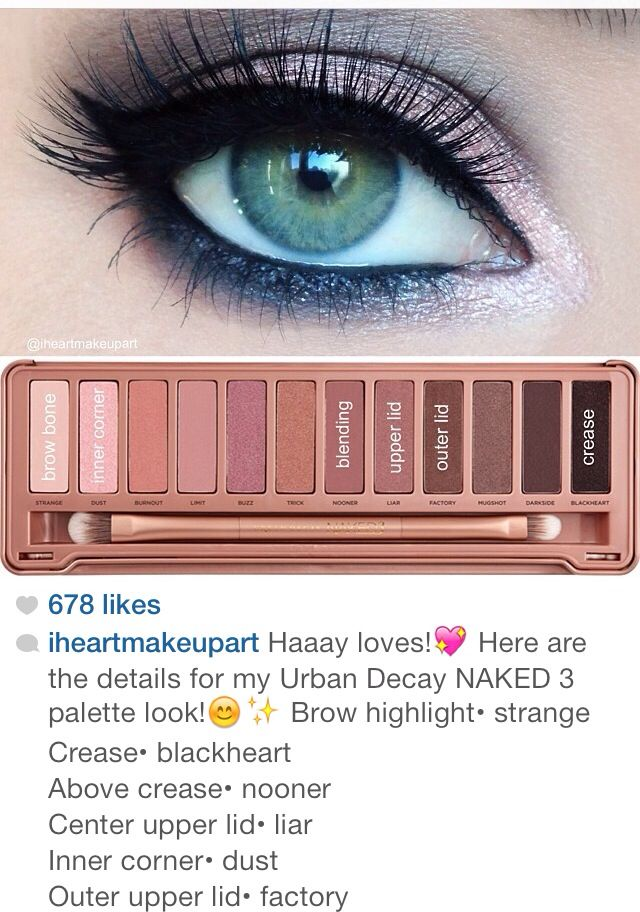Naked 3 palette! Just ordered it from Sephora. Cannnot wait!❤️❤️❤️ @Sarah Geary