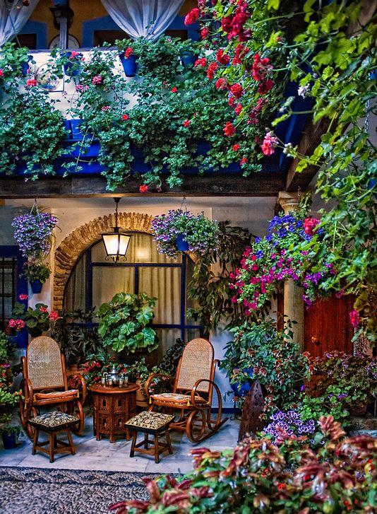 Garden in Spain