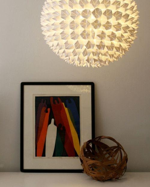 Trend Geschmeidig und stilvoll sind die W rter die diese abgebildete Lampe bezeichnen Das Metallblech