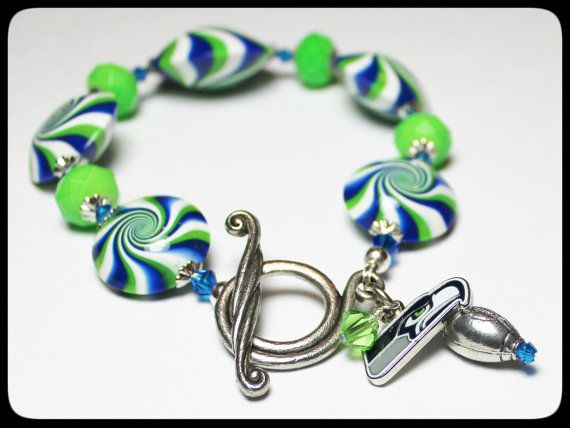 handmade jewelry seattle seattle seahawks handmade jewelry bracelet beaded 8509