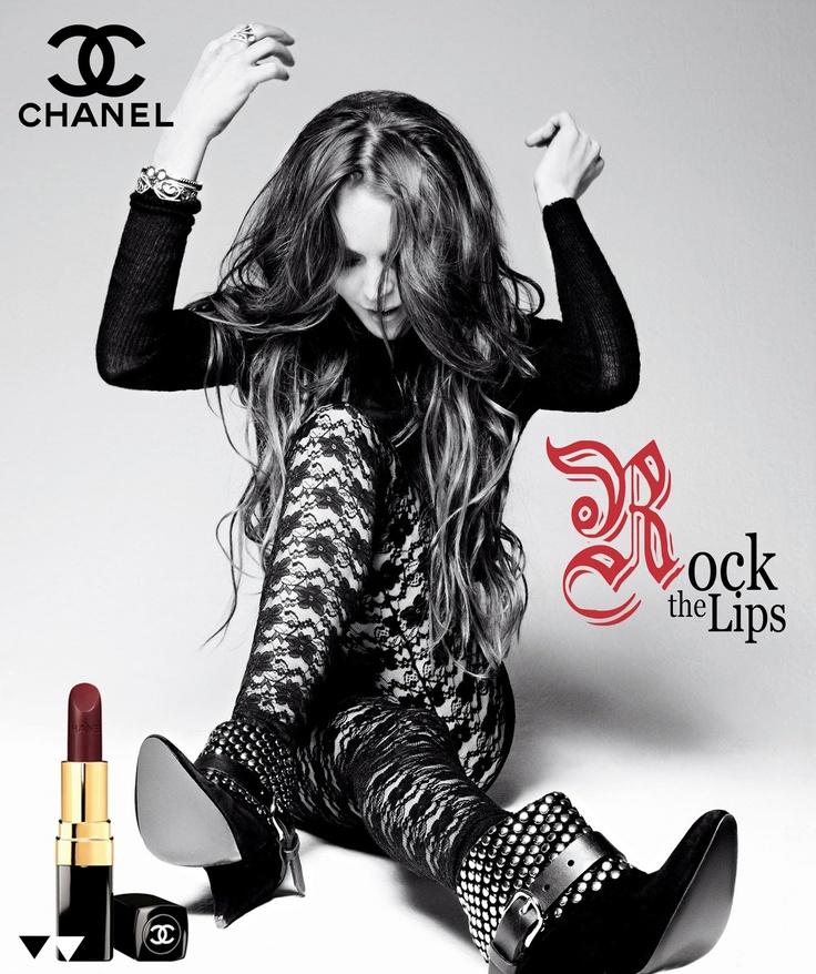 #chanel #rock #lips #rockers