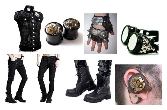 steam punk outfit by chrizchaos on Polyvore