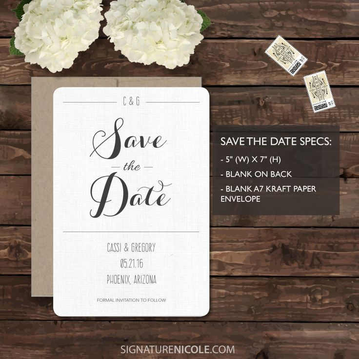 diy wedding invites rustic%0A Rustic Wedding Invitation Save the Date  QUICK DELIVERY  Organic  Barn   Farm