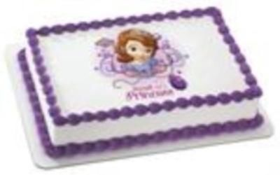 Sofia THE First Edible Cake Toppers 1 Sofia THE 1st Party Supplies Australia | eBay