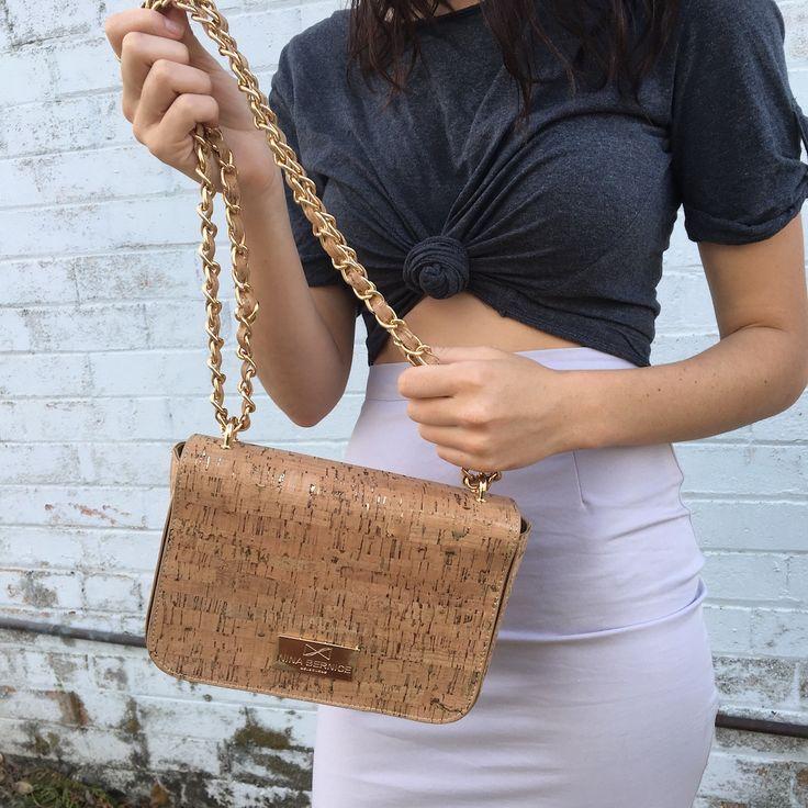 Vegan bag - Natalie Cork Crossbody