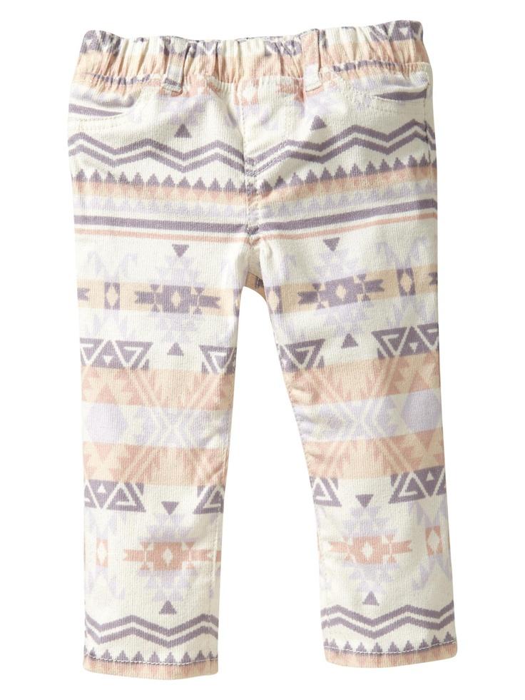 Baby Gap Navajo-print leggings