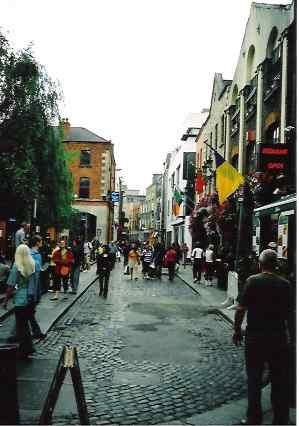 Street scene, Dublin, IRELAND.