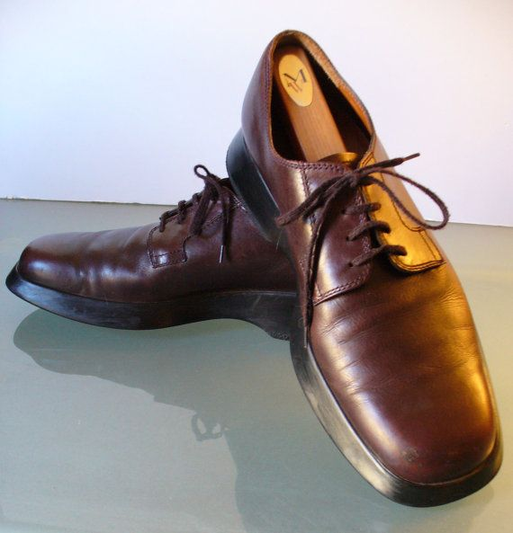 Tod's Men's Brown Oxford Shoes Size 8.5 US by EurotrashItaly