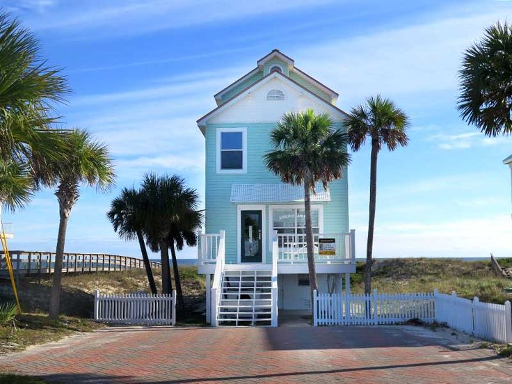 American Pie Island Cottages Beach Front St George Island Florida Collins Vacation