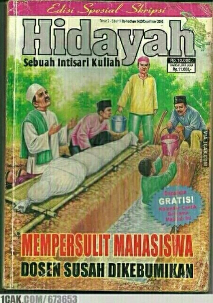 Meme Lucu Hidayah 40 Plesetan Cover Majalah Hidayah Adaada Saja Parodinya Bangku 514