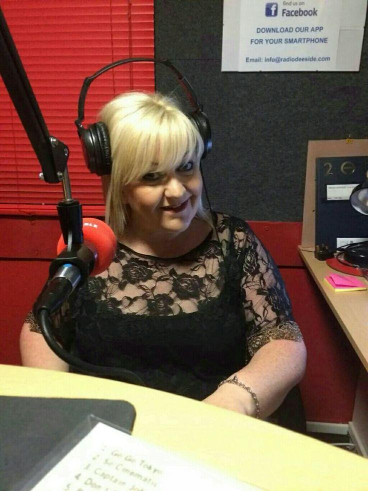 On air!! Radio Deeside