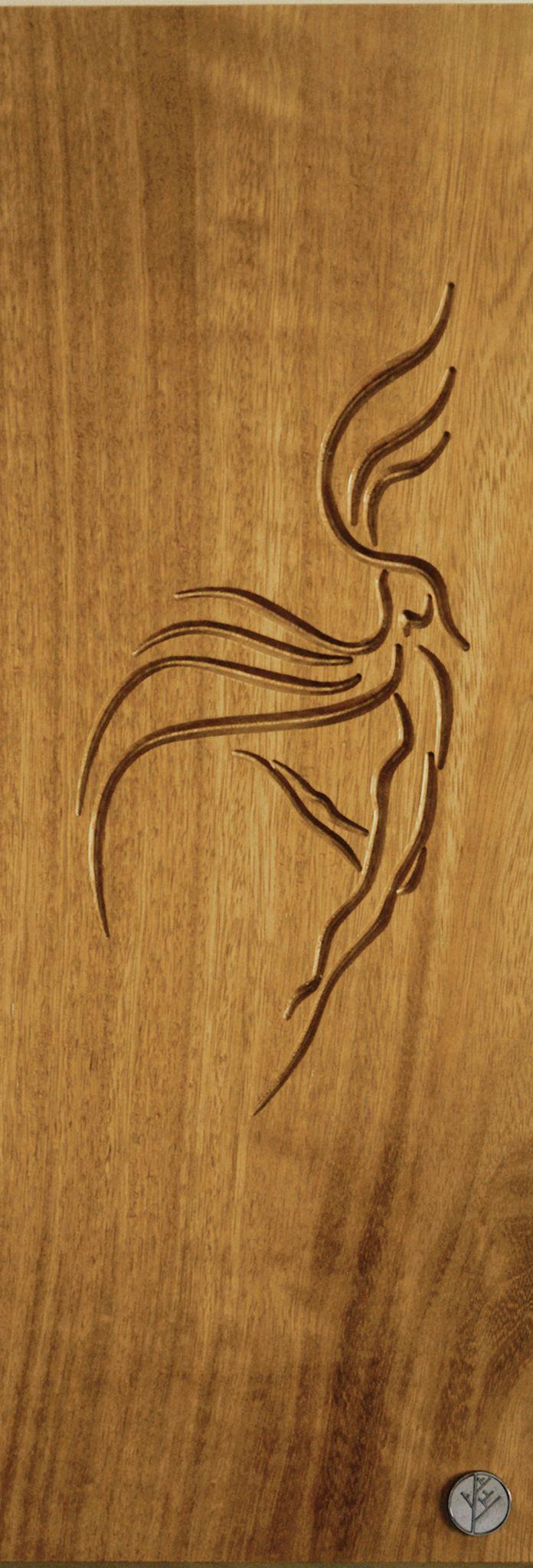 DrevoDesigns -Phoenix -Iroko wood