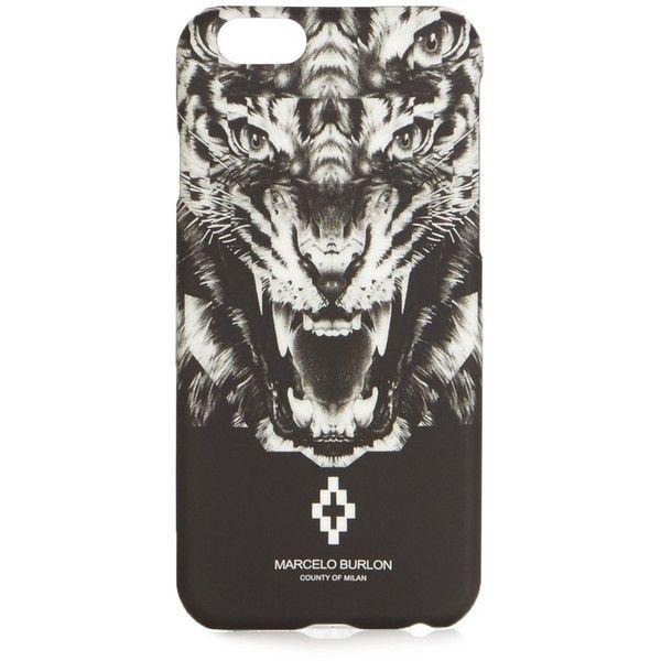 Marcelo Burlon El Muerto iPhone® 6 case ($39) ❤ liked on Polyvore featuring men's fashion, men's accessories and men's tech accessories
