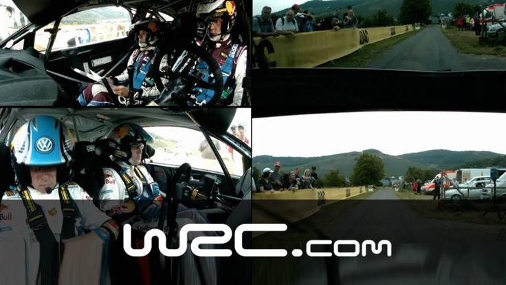 Cooler Zusammenschnitt der Cockpitansicht von Latvalla und Neuville bei der WRC ADAC Rallye Deutschland!