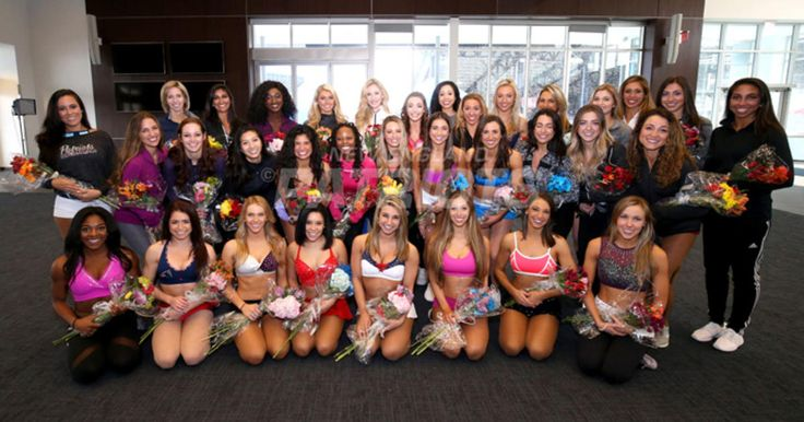 The New England Patriots Cheerleaders have announced the names of the 2017 squad.