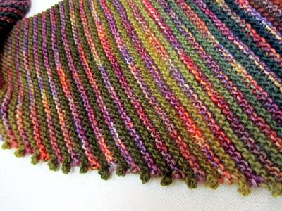 Great simple edge! Cast on 2, bind off 2. Looks like crocheted picots.