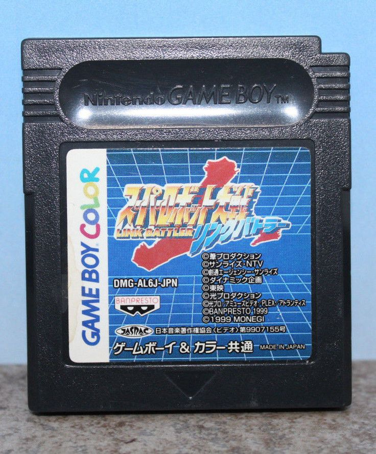 Super Robot Taisen Link Battler Gameboy Color Japanese Import Cartridge Only