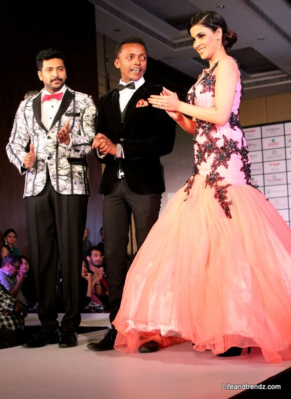 Sidney Sladen displayed his gorgeous collections! (26 photos) Sidney Sladen displayed his gorgeous collections with show shoppers Jeyam Ravi and Genelia! More here- http://lifeandtrendz.com/index.php?option=com_k2&view=item&id=418%3Asidney-sladen-displayed-his-gorgeous-collections-with-show-shoppers-jeyam-ravi-and-genelia&Itemid=115#.Uu9UhvuZTIU — at The Westin Hotel, Velachery