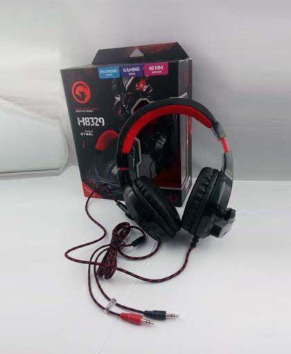 HEADSET GAMING MARVO H8329 - MARVO - Headset   Angkasa Komputer Semarang