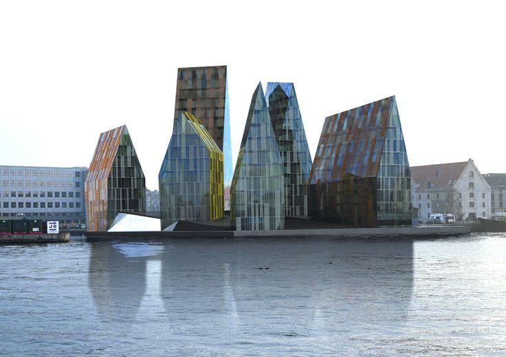 Erick van Egeraat: Erick Vans, Vans Egeraat, Krøyer Plad, Denmark Architecture, Association Architects, Copenhagen Architecture, Architecture Places Interiors, Architecture Design, Plad Copenhagen