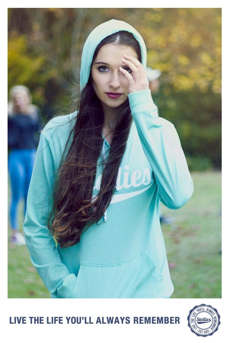 Mint Hoodie by Stellies™  Check us out at www.stelliesTM.com © Stellies 2013