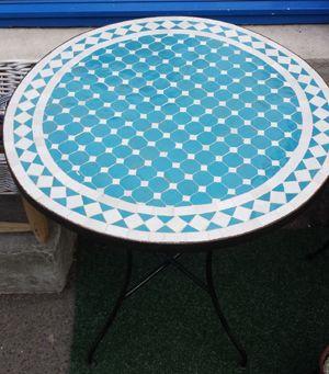 Håndlaget mosaikkbord by: Egenprodusert - Lille Medina - Lille Medina