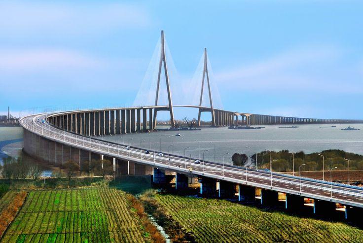 Sutong Bridge Approaches. Jiangsu, China