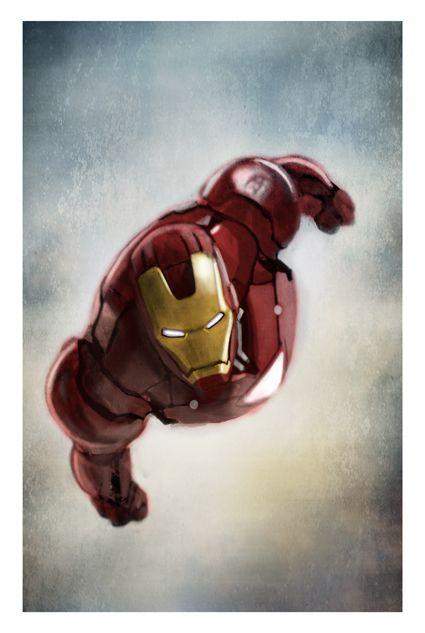 Iron Man by Diego P Galindo